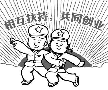 幼儿园国庆简笔画面