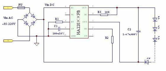 高压led恒流源系列