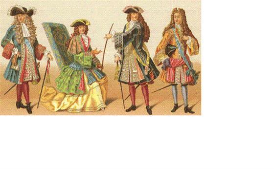 """由于受到巴洛克艺术风格的影响,在西洋服装史上,甚至用""""巴洛克"""