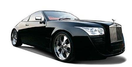DC 设计的劳斯莱斯Coupe 汽车工业 百科全书 价值中国网 网络就是社高清图片