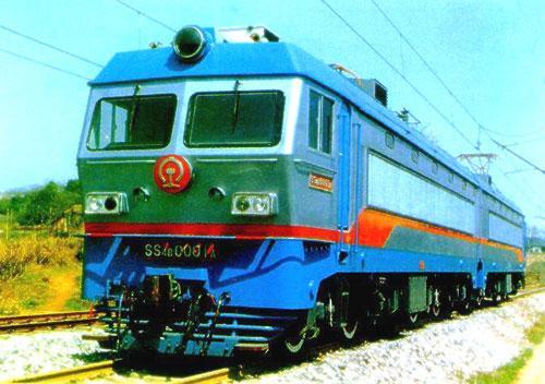 韶山4b型干线货运电力机车