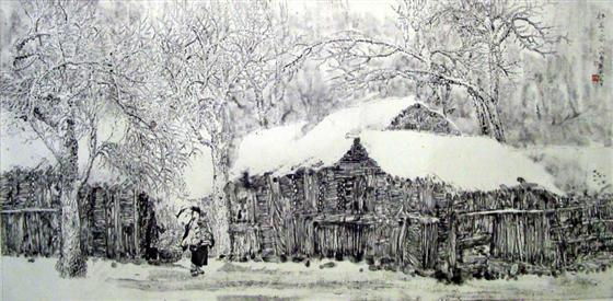 热烈祝贺北海画苑签约当代著名画家张东林先生
